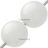 Swarovski 5811 Round Large Hole Pearl Bead Creamrose Light 10mm
