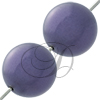 Swarovski 5811 Round Large Hole Pearl Bead Dark Purple 12mm