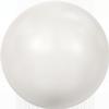 Swarovski 5811 Round Large Hole Pearl Bead Crystal White 10mm