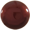 Swarovski 5817 1/2 Drilled Cabochon Pearl Bordeaux 10mm