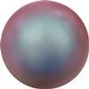 Swarovski 5810 Round Pearl Bead Iridescent Red 3mm