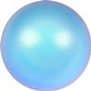 Swarovski 5817 1/2 Drilled Cabochon Pearl Iridescent Light Blue 8mm
