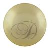 Swarovski 5818 1/2 Drilled Round Pearl Light Gold 8mm