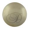 Swarovski 5818 1/2 Drilled Round Pearl Platinum 8mm
