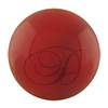 Swarovski 5818 1/2 Drilled Round Pearl Red Coral 8mm