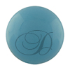 Swarovski 5818 1/2 Drilled Round Pearl Turquoise 8mm