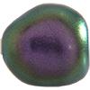 Swarovski 5840 Baroque Pearl Bead Iridescent Purple 10mm