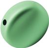Swarovski 5860 Coin Pearl Bead Eden Green 12mm