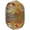 Swarovski 5940 BeCharmed Briolette Bead Crystal Copper 14mm