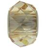 Swarovski 5940 BeCharmed Briolette Bead Crystal Golden Shadow 14mm