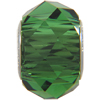 Swarovski 5948 BeCharmed Briolette Bead Dark Moss Green 14mm
