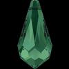 Swarovski 6000 Teardrop Pendant Emerald 18x9mm
