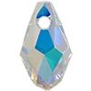 Swarovski 6007 Small Briolette Pendant Crystal AB 7x4mm