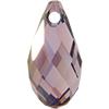 Swarovski 6010 Briolette Pendant Crystal Lilac Shadow 13x6.5mm