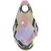 Swarovski 6010 Briolette Pendant Crystal Paradise Shine 11x5.5mm