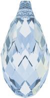 Swarovski 6010 Briolette Pendant Crystal Blue Shade 13x6.5mm