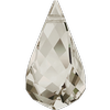 Swarovski 6020 Helix Pendant Crystal Silver Shade18mm