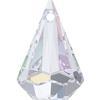 Swarovski 6022 Xirius Raindrop Pendant Crystal AB 24x15.5mm