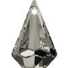 Swarovski 6022 Xirius Raindrop Pendant Crystal Satin 24x15.5mm