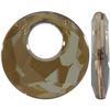 Swarovski 6041 Victory Pendant Crystal Bronze Shade 28mm