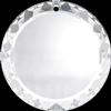 Swarovski 6049 Flat Beveled Pendant Crystal 20mm