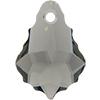 Swarovski 6090 Baroque Pendant Black Diamond 16x11mm