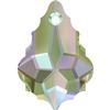 Swarovski 6090 Baroque Pendant Crystal Paradise Shine 22x15mm