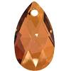 Swarovski 6106 Pear Shaped Pendant Crystal Copper 16mm