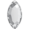 Swarovski 2200 Navette Flat Back Crystal 4x2mm