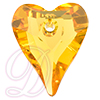 Swarovski 6240 Wild Heart Pendant Sunflower 12mm