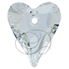 Swarovski 6240 Wild Heart Pendant Crystal 37mm