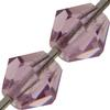 Preciosa Bicone Bead 4mm Light Amethyst
