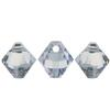 Swarovski 6301 Top Drilled Bicone Pendants Crystal Blue Shade 6mm