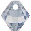 Swarovski 6328 Top Drilled Xilion Bicone Pendant Crystal Blue Shade 6mm