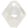 Swarovski 6301 Top Drilled Bicone Pendant Crystal AB 6mm