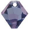 Swarovski 6301 Top Drilled Bicone Pendant Tanzanite 8mm