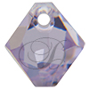 Swarovski 6301 Top Drilled Bicone Pendant Violet 8mm
