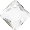 Swarovski 6431 Princess Cut Pendant Crystal 11.5mm