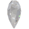 Swarovski 6540 Twisted Drop Pendant Crystal 12mm