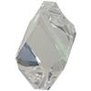 Swarovski 6650 Cubist Pendant Crystal Moonlight 22mm