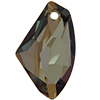 Swarovski 6656 Galactic Vertical Pendant Crystal Bronze Shade 27mm