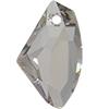 Swarovski 6656 Galactic Vertical Pendant Crystal Silver Shade 27mm