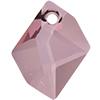 Swarovski 6680 Cosmic Pendant Crystal Antique Pink 20mm