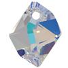 Swarovski 6680 Cosmic Pendant Crystal AB 14mm