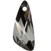 Swarovski 6690 Wing Pendant Crystal Silver Night 23mm