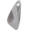 Swarovski 6690 Wing Pendant Crystal Silver Shade 23mm