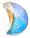 Swarovski 6722 Moon Pendant Crystal AB 16mm