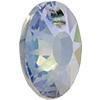 "Swarovski 6724/G Sun Pendant, Partly Frosted Crystal Paradise Shine ""V"" 12mm"
