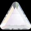 Swarovski 2711 Triangle Hotfix Crystal AB 3.3mm