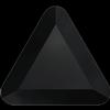 Swarovski 2711 Triangle Hotfix Jet 3.3mm